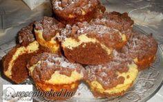 Reszelt túrós muffin recept fotóval