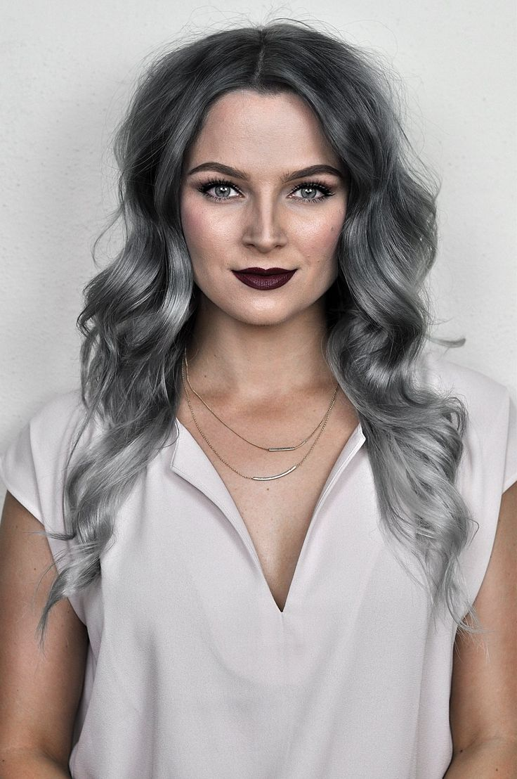 Check Out This Tutorial To Learn How To Get That Perfect Silver Ombre Hair  At Home
