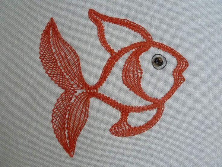 SM4, le poisson (1.50euros) déjà finit (car commencé dimanche dernier) par Bernadette Dionisio