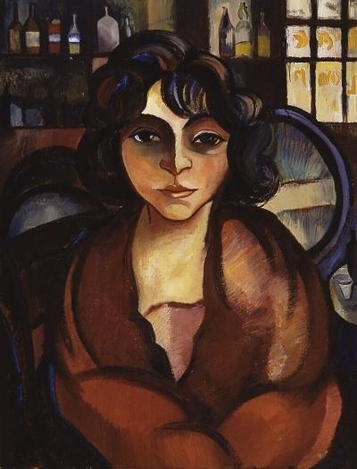 La Vigne d'Or, 1921 - by Charley Toorop (1891 - 1955), Dutch