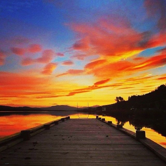 Even the sunsets are better in Tasmania. #tasmania #discovertasmania #sunset Image Credit: Kathryn Leahy