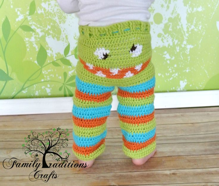 Crochet Pattern Baby Monster Pants : Crochet Monster Pants Custom Made to order. by srcorcoran ...