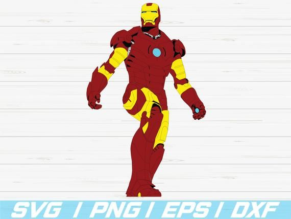 Iron Man Svg Ironman Cutfiles Cricut Clipart Silhouette Cameo Tony Stark Vector Iron Man Cricut Cricut Projects Beginner