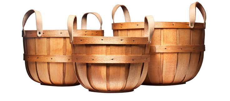 Handmade Picking Baskets - Kaufmann Mercantile from Peterboro Basket Company