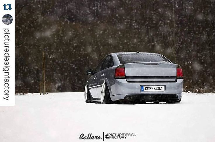 love that ass   __________  @PictureDesignFactory    #ballers #ballersfam #repostapp #hellaflushed #fitted #bagged #opel #vectra #gts #snowpicture #winterwonderland #cambergang #bagriders #widewheels #deepdishes #CMBRBRNZ