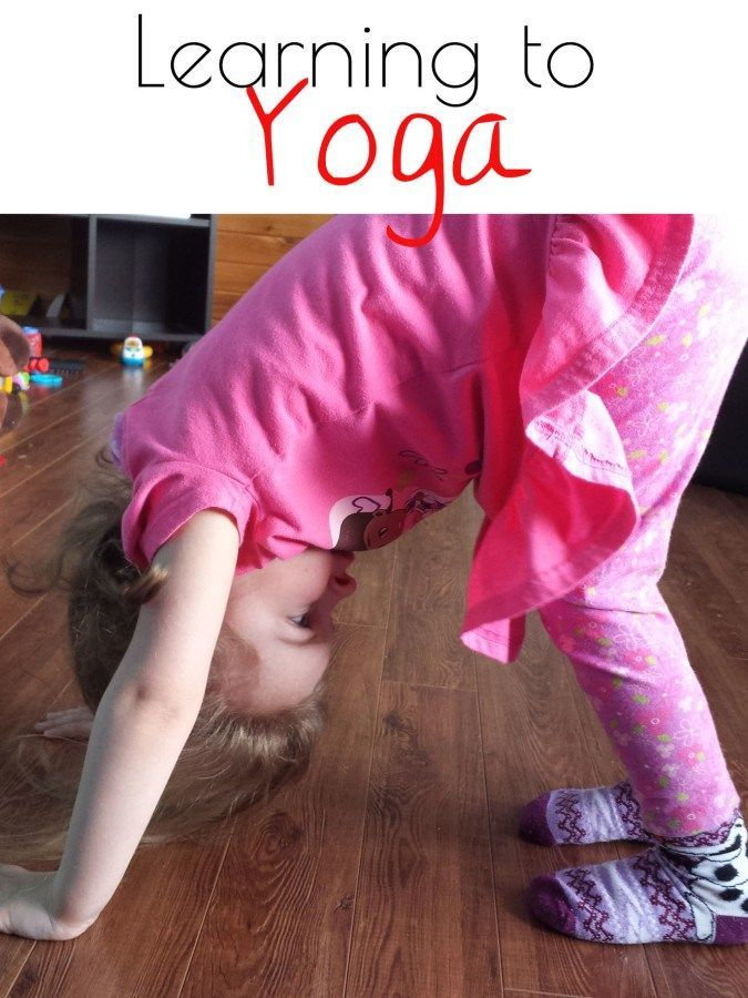 Learning Yoga: for Us and Kids