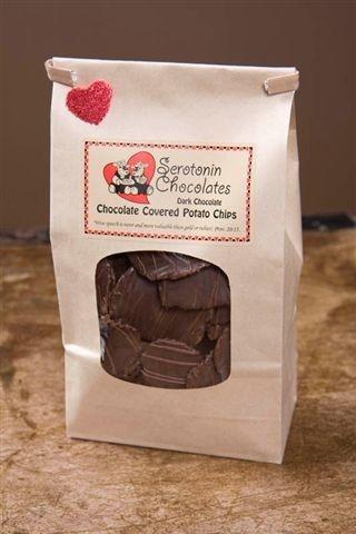 Serotonin Chocolates - Handmade Specialty Chocolates - Vermilion, Alberta - the chocolate covered potato chips are incredible!