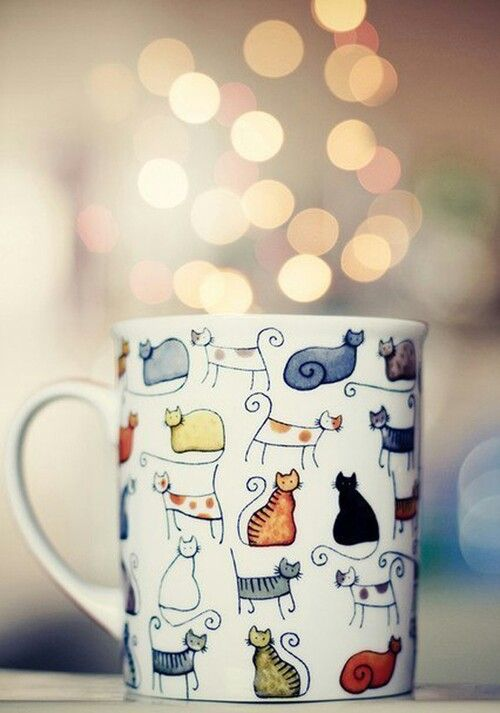 Cats mug, great gift for a cat lover I know.