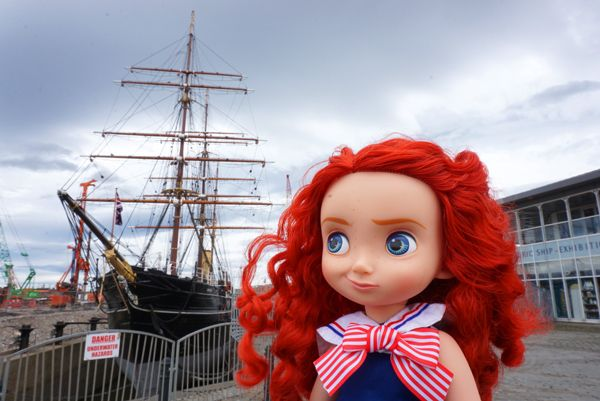 My Disney Animator's Collection - Merida =) Took it on 22nd May 2015 by RRS Discovery, Dundee.