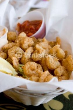 If you are by Calabash NC- stop in for some shrimp. Calabash style seafood originated there, and its the best seafood around.