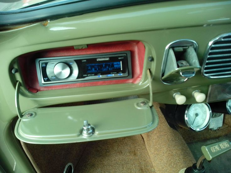 modern stereo for classic beetle - Google Search