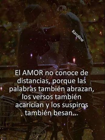 El amor no conoce de distancia