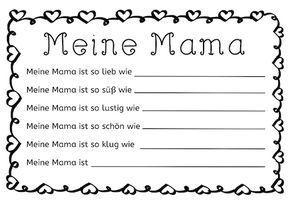 Ideen zu Muttertag –