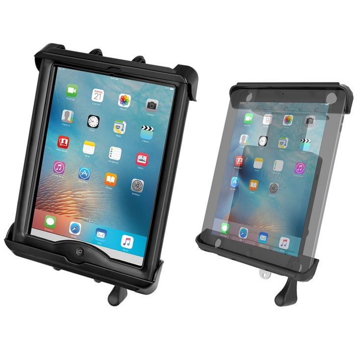 """RAM-HOL-TABL-LGU RAM Mounts Tab-Lock™ Locking Cradle for 10"""" Screen Tablets including the Apple iPad 1-4 with LifeProof nüüd Cases & Lifedge Cases – RAM Mounts Dealer - Synergy Mounting Systems - Telford, PA USA 215-290-2268"""