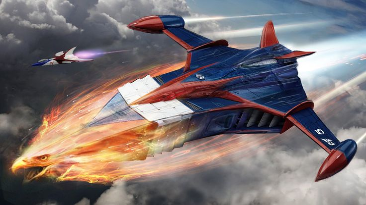 """Called """"Battle of the Planets"""" in the US -- Gatchaman Phoenix WIP by uncannyknack on deviantART"""