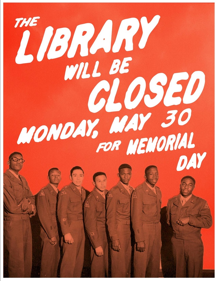 closed for memorial day flyer