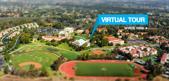 The virtual tour is a great way to visit the campus of www.StraighterLine.com partner Concordia University Irvine.