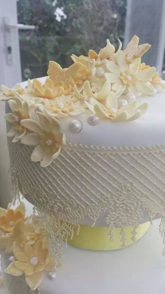 sugar lace close up