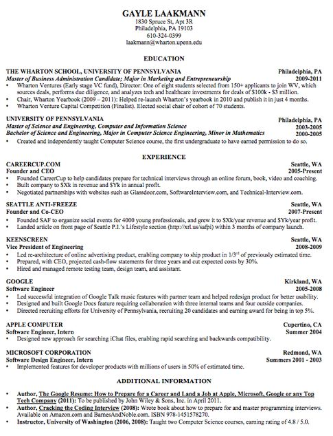 10  best ideas about best resume format on pinterest