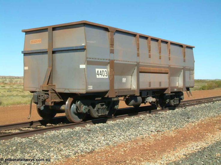 BHP Golynx Iron Ore Car, capacity approx 132 t