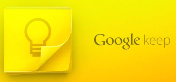 Google Launches Notes Service, Google Keep #google