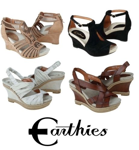 Earthies : heels with arch support