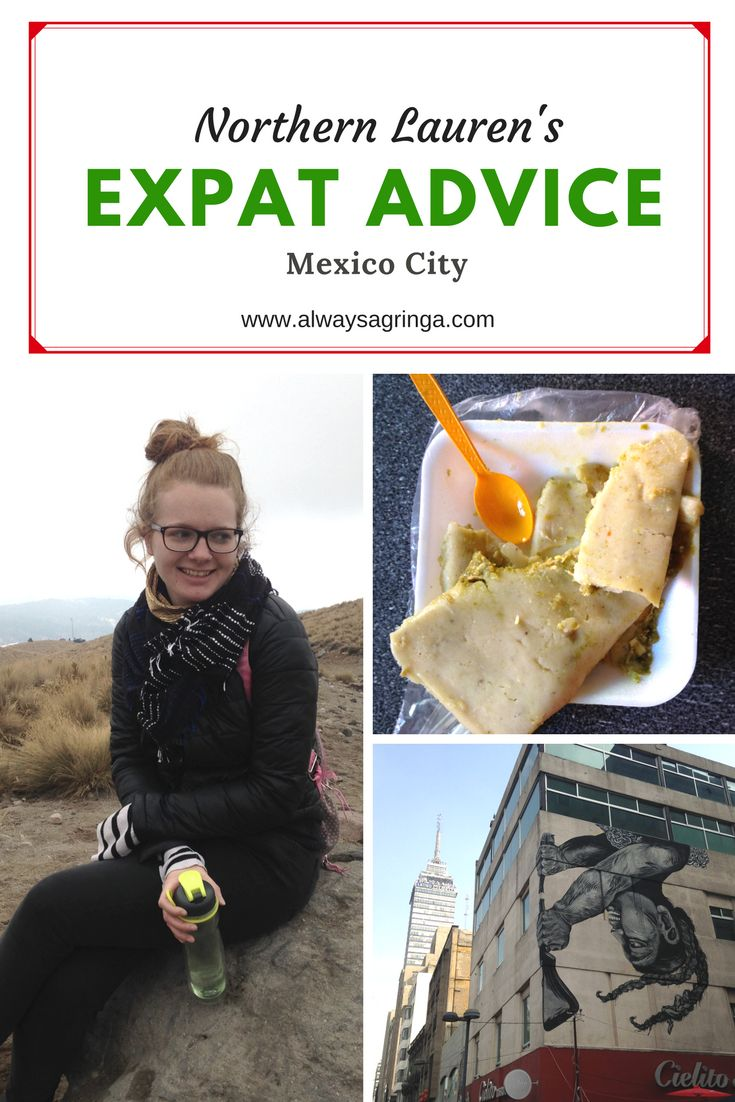 Blogger Series: Gringas Abroad; Expat Advice from Bloggers Living in Latin America.   Lauren is a Mexico City based travel blogger at Northern Lauren who writes (mainly) about Mexico, food and feminism.