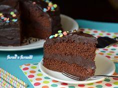 Pastel del diablo, super torta al cioccolato
