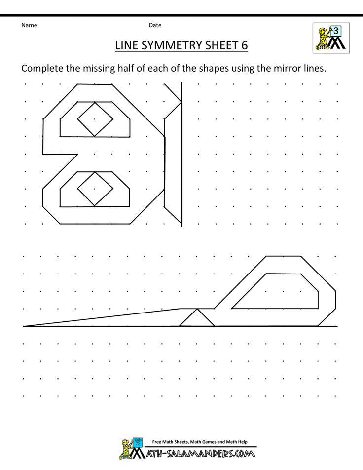 22 best preschool: symmetry images on Pinterest | Kindergarten ...