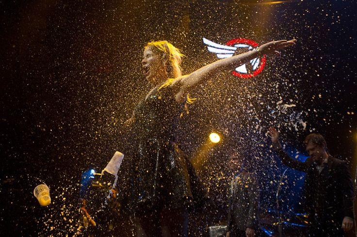 De Popprijs 2014 mag op de schoorsteenmantel van The Common Linnets staan. De belangrijkste Nederlandse muziekprijs wordt elk jaar uitgereikt op het showcasefestival Noorderslag in Groningen.