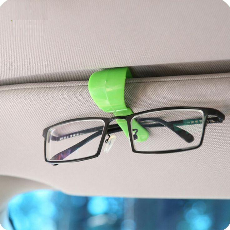 2pcs Plastique Transparent Clip sur lunettes Box Lunettes de soleil Coque de protection Goggle Eyewear Coque jddt0ostG