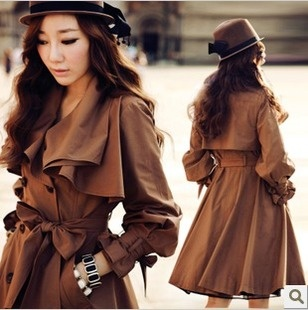 Aliexpress.com : Buy 2012 autumn outerwear slim casual overcoat women's trench freeshipping from Reliable Trench suppliers on Elemental Digital Global Trading Co., Ltd.
