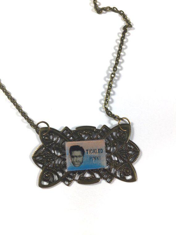 Novelty Necklace, Lenticular Necklace, Assemblage Necklace