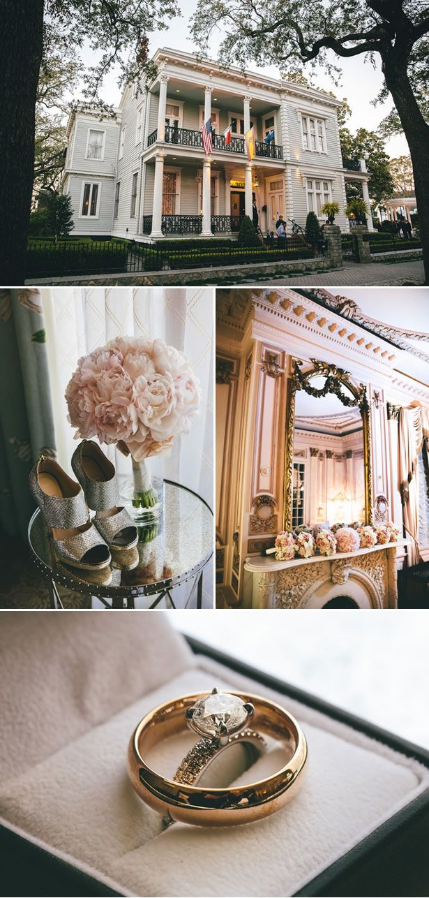 Romantic Courtyard Wedding in New Orleans - WeddingWire: The Blog Photography by Sam Gregory Photography www.getpolishedevents.com