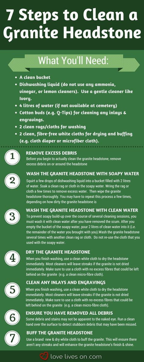 How To Clean A Headstone: The Ultimate Guide