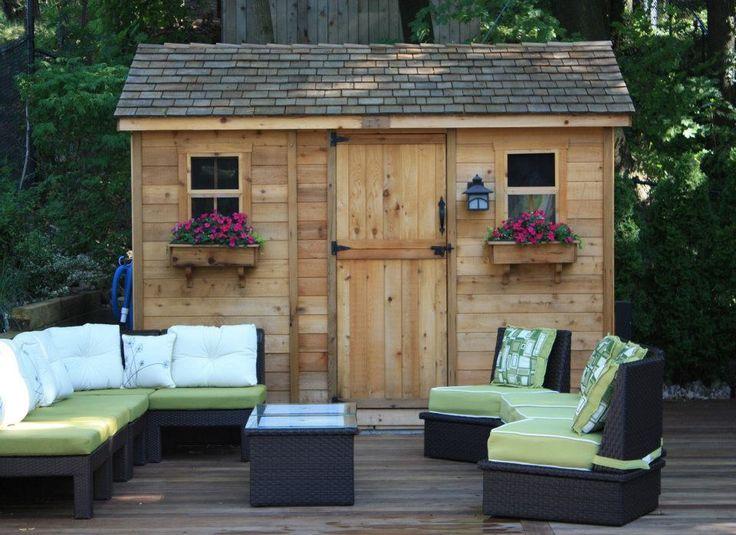 Outdoor Living Today   9x6 Cabana Garden Shed CB96OLT   On ... on Outdoor Living Today Cabana id=71297