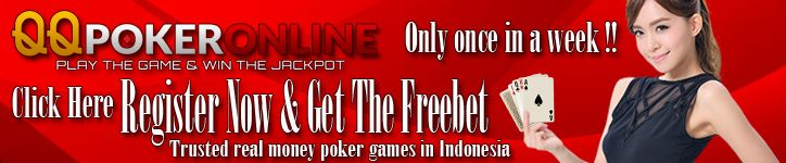 QQPokeronline.biz - Apa yang anda cari dari sebuah situs judi online? Pasti bonus freechip bukan? Situs ini menyuguhkan poker berhadiah freebet setiap....