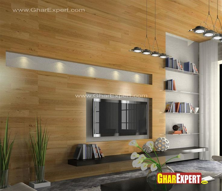 Exclusive style of LCD wall de Ideas for the House