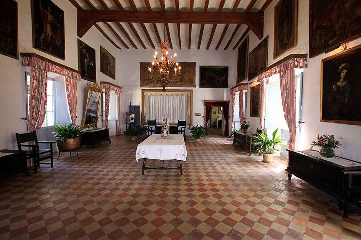The room is the view | Throne Room, La  Granja  Esporles - Mallorca