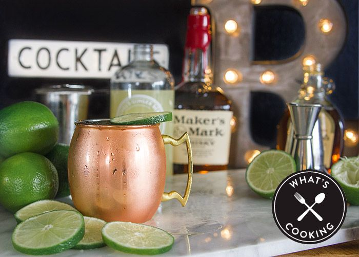 Nor'Easter Moscow Mule-inspired bourbon cocktail recipe from Nordstrom; photo by Jeff Powell.