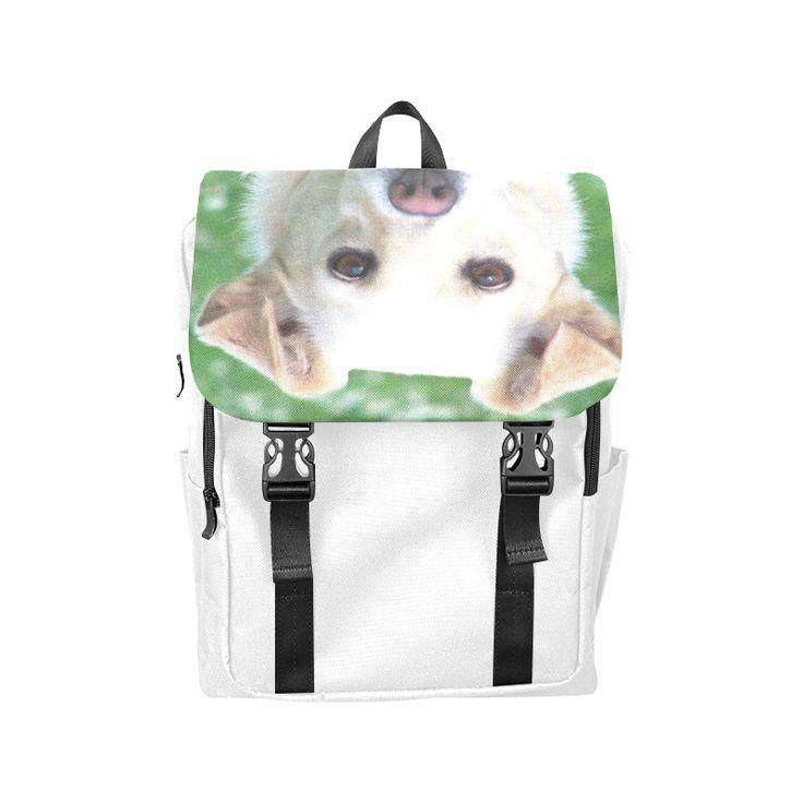 Dog face close-up Casual Shoulders Backpack (Model 1623)