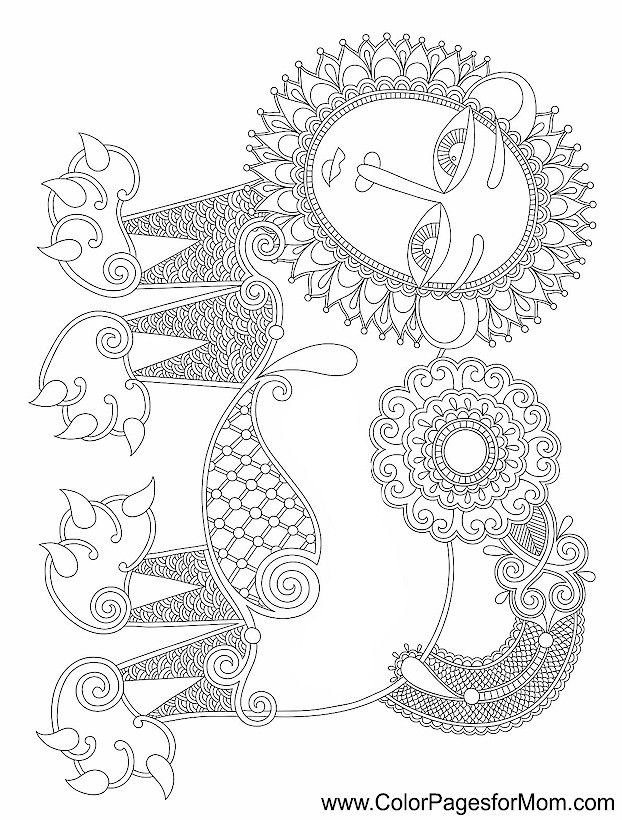 colorama coloring pages colored - photo#13