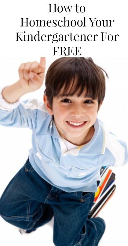 How to Homeschool Your Kindergartener For Free {Homeschooling, Frugal Living, Tips for Moms, Parenting}