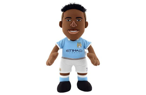 """Manchester City Sterling Bleacher Creature Plush Toy: Raheem Sterling 10"""" plush figure. This collectable 10""""… #UKShopping #OnlineShopping"""