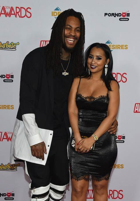 Rapper Waka Flocka Flame and Tammy Rivera at the 2016 Adult Video News Awards...