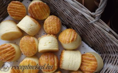 Pogácsa maradék krumplipüréből recept fotóval