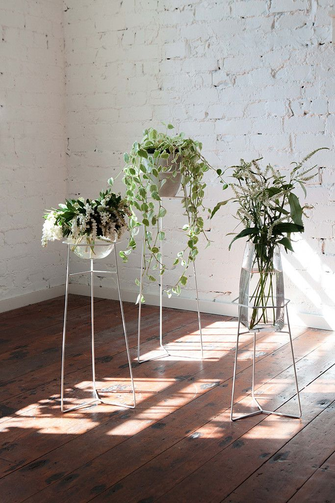 I adore these Pot Plant Stands - White from trestleunion and Studio Home buy them here http://www.trestleunion.co.nz/collections/stands/products/pot-plant-stands-white