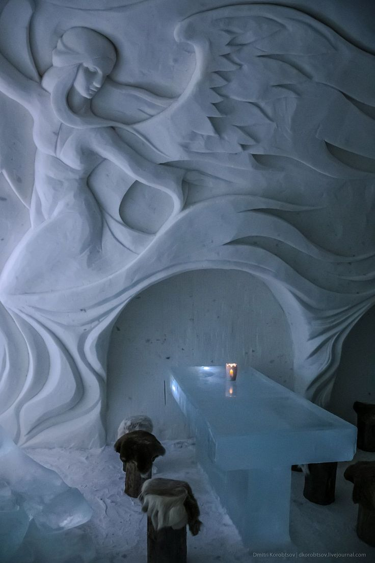 The SnowCastle of Kemi is the biggest snow fort in the world. It is rebuilt every winter with a different architecture in Kemi, Finland.