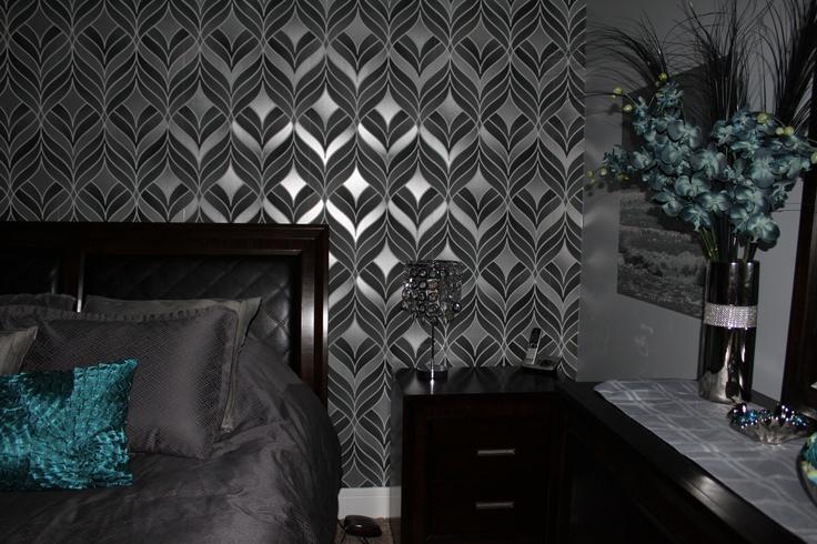 32 best Teal Silver Bedroom images on Pinterest | Silver bedroom ...
