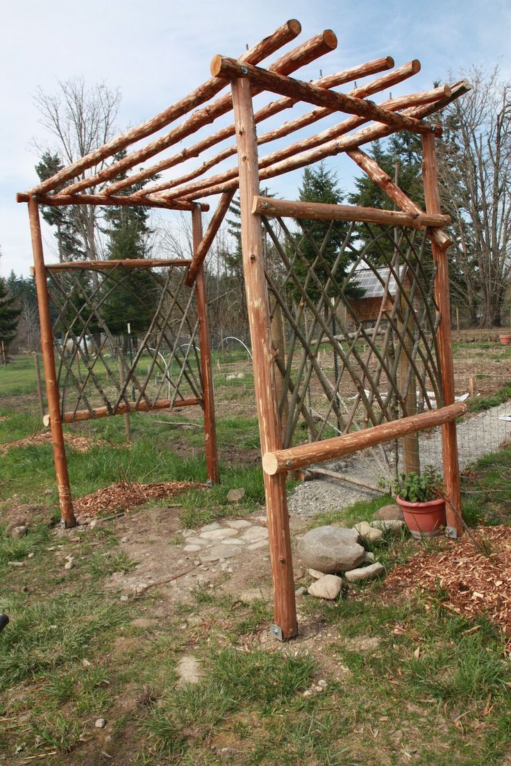 Trellis Garden Decor | Trellis Design 1067x1600 Beginnings Of A